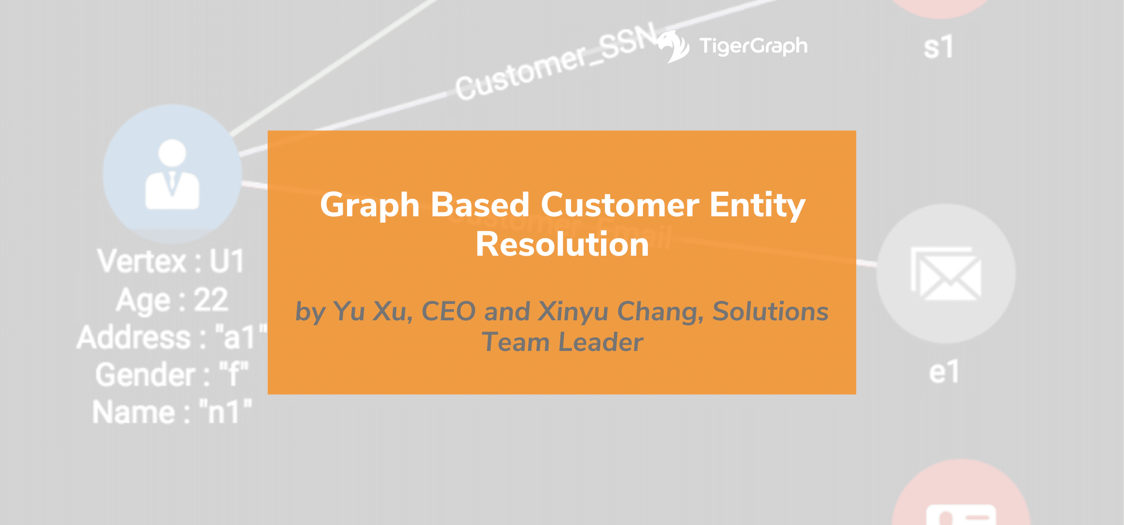 Graph-Based Customer Entity Resolution